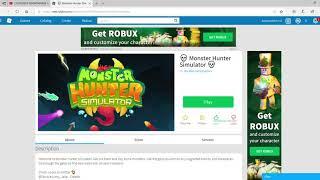 Détruire les ortes maléfiques dans Robloxie Roblox Monster Hunter Simulator