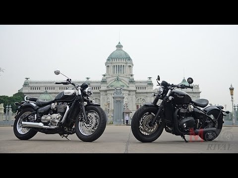 Review Triumph Bobber Black Speedmaster Youtube