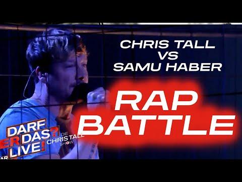 Rap Battle: Samu Haber vs. Chris Tall | Darf er das? Live! Die Chris Tall Show