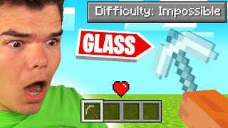 *NEW* IMPOSSIBLE DIFFICULTY MODE In MINECRAFT! (Insane)