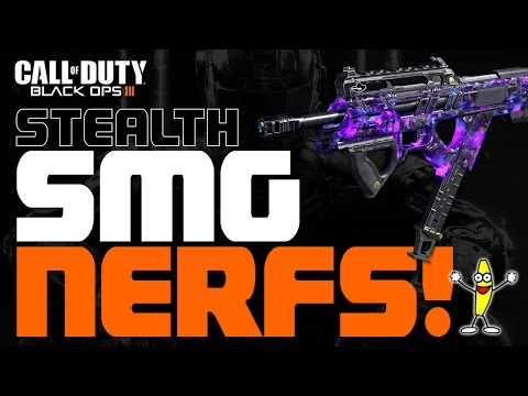 All SMG's have been MASSIVELY stealth-nerfed! (Video by Tabor Hill)