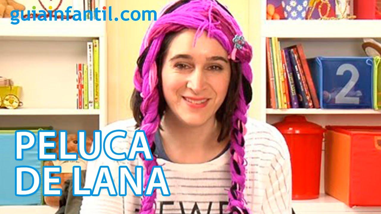 C mo hacer una peluca con lana para un disfraz infantil - Como hacer un disfraz de bebe ...