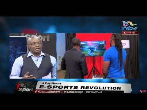 #TopSport: E-Sports revolution in Kenya