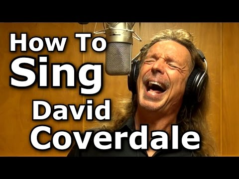 How To Sing David dale  Whitesnake  Here I Go Again  Ken Tamplin Vocal Academy
