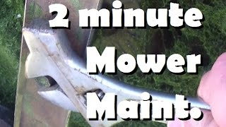 Manly-Man Skills: Sharpen And Balance Blades In 2 Minutes