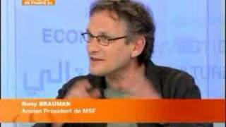 FRANCE 24 - FR - ENTRETIEN - Rony Brauman MSF
