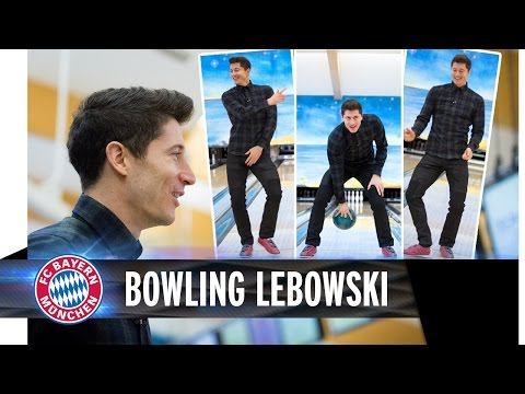 Bowling with Lewandowski - The Big Lebowski