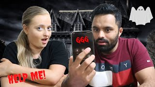 CALLING HAUNTED NUMBERS YOU SHOULD NEVER CALL AT 3AM  SCARY CHALLENGE