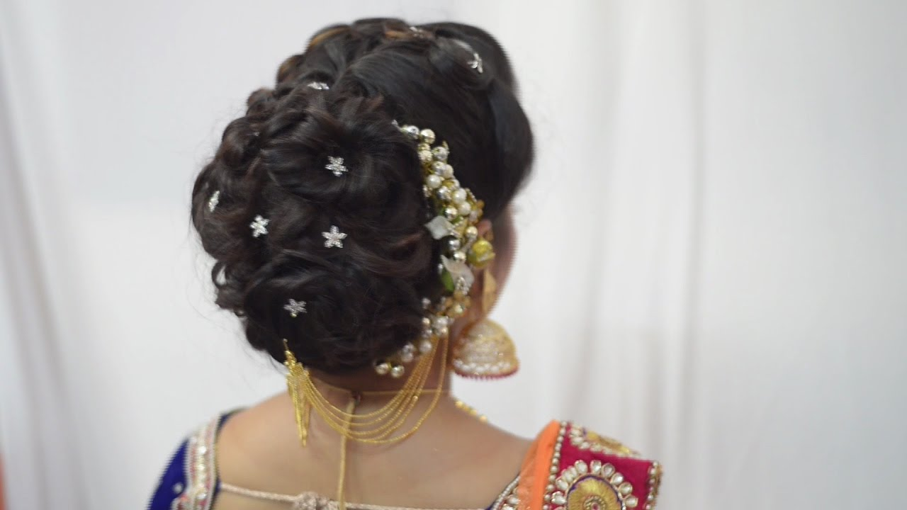 Messy HairStyle - Jayshree Brahmbhatt - YouTube