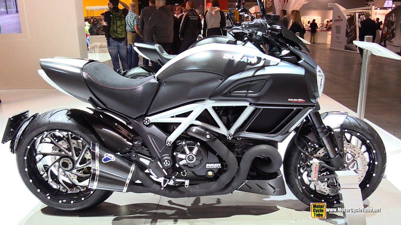 2015 Ducati Diavel Carbon Walkaround 2014 Eicma Milan Motorcycle