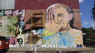 Pittsburgh 360: Mac Miller's Mural