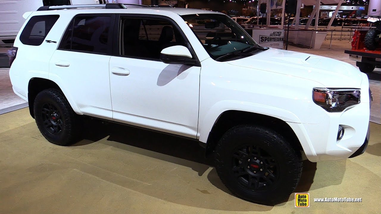 2017 toyota 4runner trd pro exterior and interior walkaround 2017 chicago auto show youtube. Black Bedroom Furniture Sets. Home Design Ideas