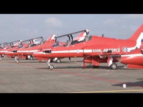 RAF Aerobatic Team Arrives South China City ahead of Int'l Aviation Show