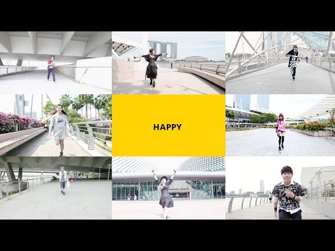 HAPPY We are from Singapore (Harajuku Fashion Walk Singapore / Talent)
