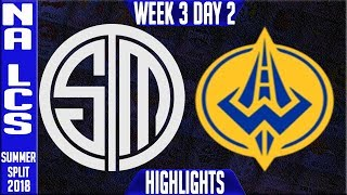 Video TSM vs GGS Highlights | NA LCS Summer 2018 Week 3 Day 2 | Team Solomid vs Golden Guardians download MP3, 3GP, MP4, WEBM, AVI, FLV Juli 2018