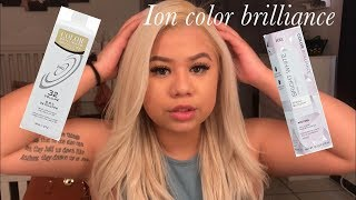 All about my hair | Toning my hair using Ion Bright White Toner | Lydia R Hernandez