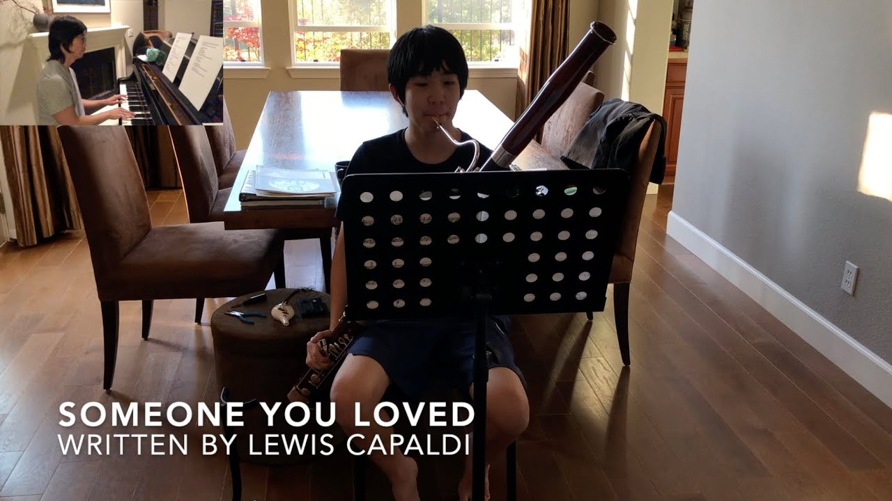"""Someone You Loved"" by Lewis Capaldi I Bassoon + Piano"