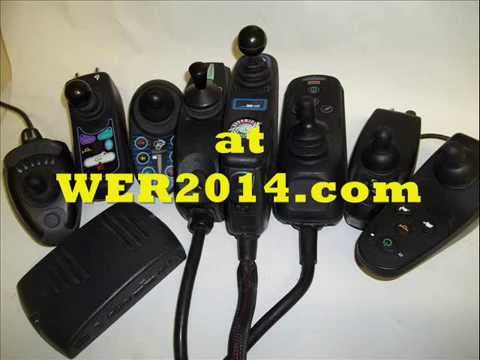 Electric Power Wheelchair Joystick Parts and Repair  YouTube
