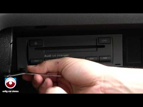 2006-2014 Audi A3 CD changer removal
