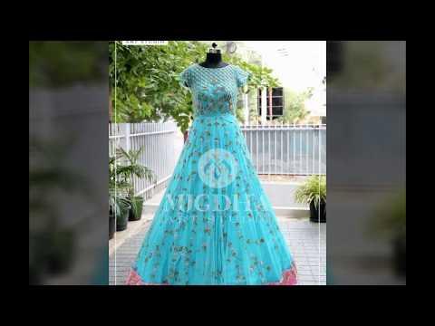 Latest   Long length dresses indian#party wearfloor length anarkali dresses design#
