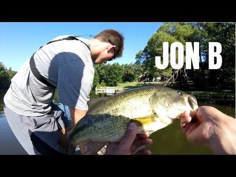 Bass FRENZY with GOOGAN Baits!! Ft Jon B
