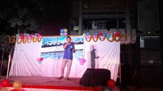 bolte bolte cholte cholte, karaoke, sung by Razon, Zia Hall, University of Dhaka......