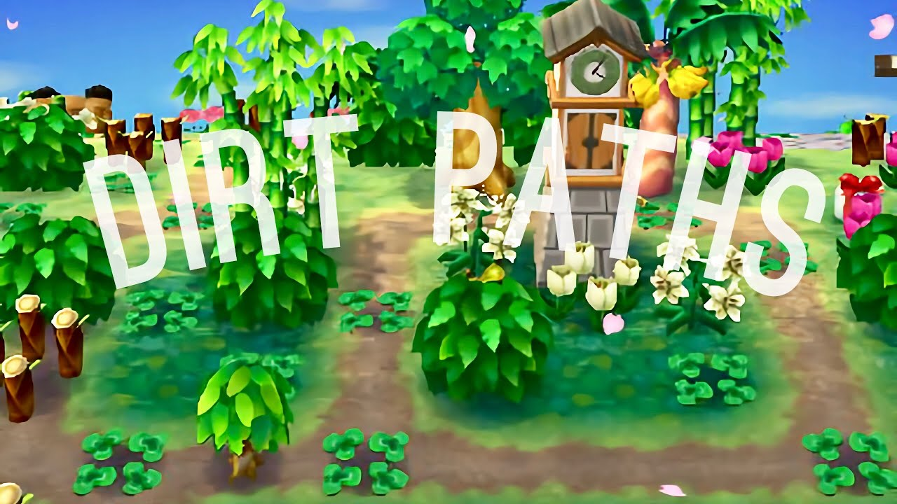How To Get Dirt Paths Using The New Leaf Save Editor Animal