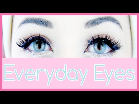 Cute Eyes Tutorial | My Everyday Eye Makeup