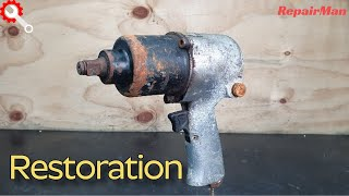 Very Rusty AIR Impact Wrench P…