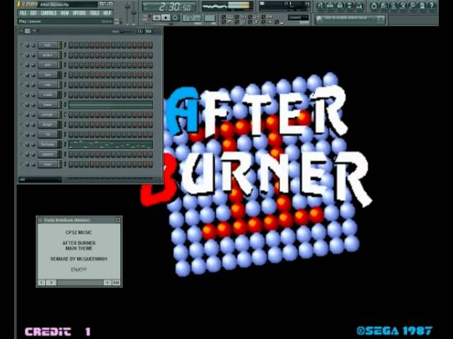 After Burner - Main Theme - CPS2 Re-Arrange (FL Studio) - clipzui com