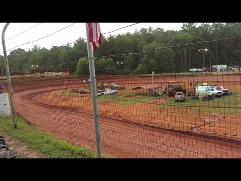 Hot laps at Tri- County Racetrack