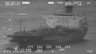 U.S. Coast Guard Assist Tanker Adrift Off Oregon