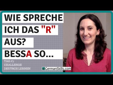 Aussprache: R oder kein ER - Wie spreche ich es aus?