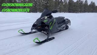 2022 Arctic Cat ZR9000 Thundercat with Electronic Power Steering (EPS)