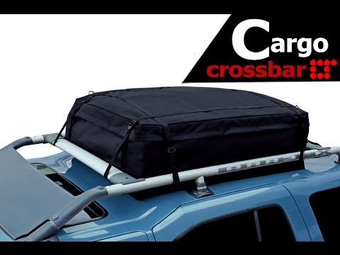 Rooftop Storage Bag Cargo Bag Installation Guide by LT Sport RB-4233 - YouTube