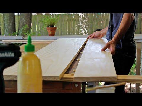 Building a Modern Dining Table DIY Select Pine || Amir Creator