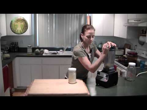 making-millet-flour