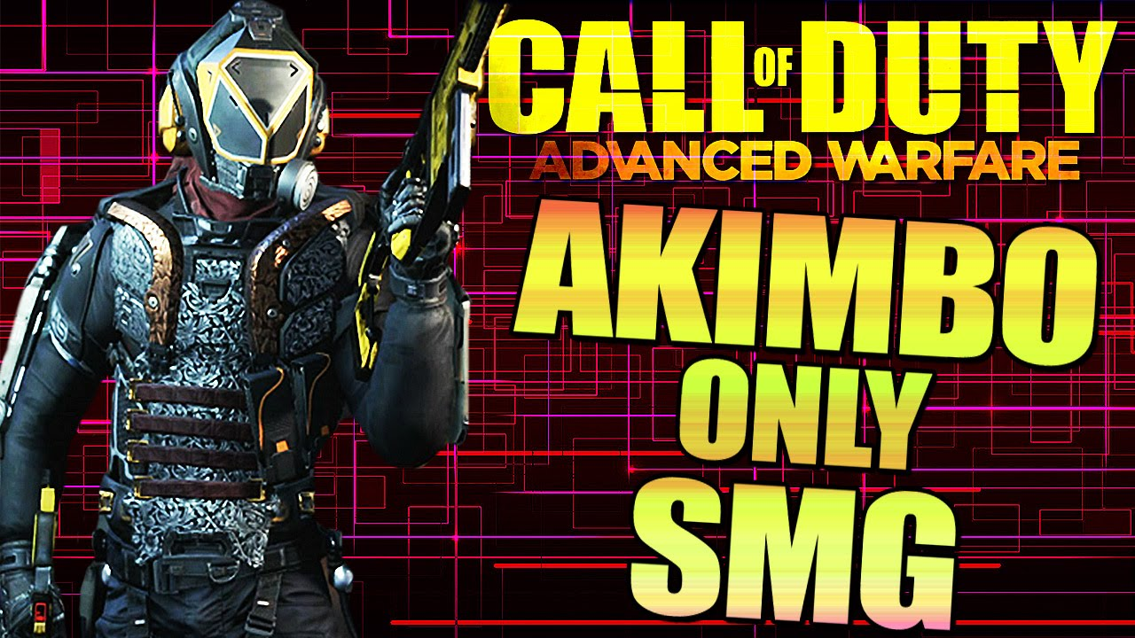 advanced warfare akimbo only smg no ads mutiplayer weapons call of duty youtube. Black Bedroom Furniture Sets. Home Design Ideas