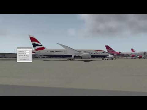 Boeing 787 Dreamliner Gatwick to Glasgow