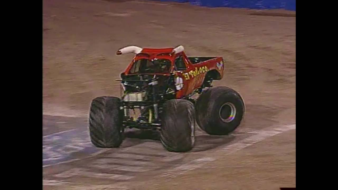 Freestyle El Toro Loco Monster Jam World Finals 2003 Youtube