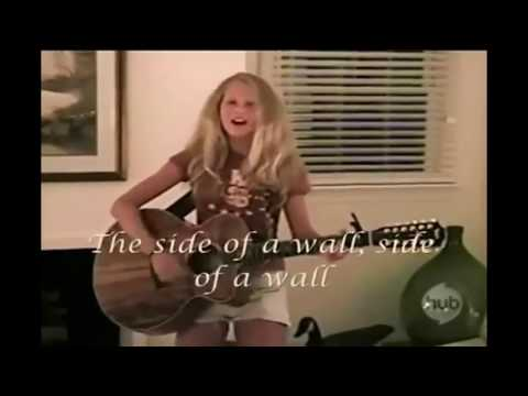Taylor Swift Childhood singing videos