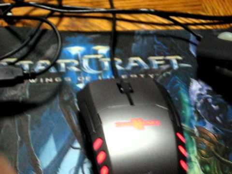 3e46b878b1f Starcraft 2 Razer Mouse (Spectre) Review (My first review) APM Lighting  system - YouTube