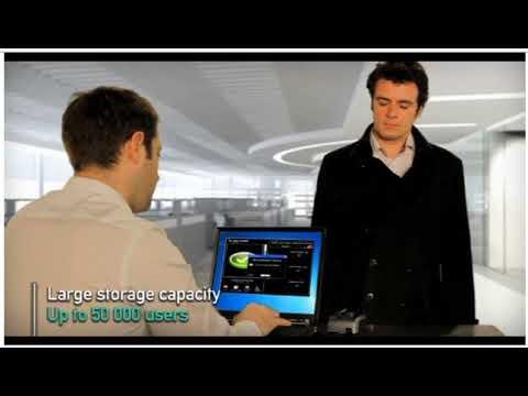 EntraPASS Morpho Finger Vein Reader for Turnstiles Access Control