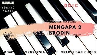 Download lagu Tutorial Keyboard MENGAPA 2 New Palapa (Melodi dan Akor Do=C)