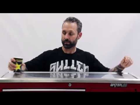 Ryan Smith Explaing The Features Of The Waterloo Tattoo Storage