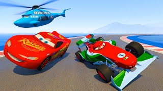 Race Cars McQueen Francesco Bernoulli and Friends The King Chick Hicks - Videos for kids & Songs