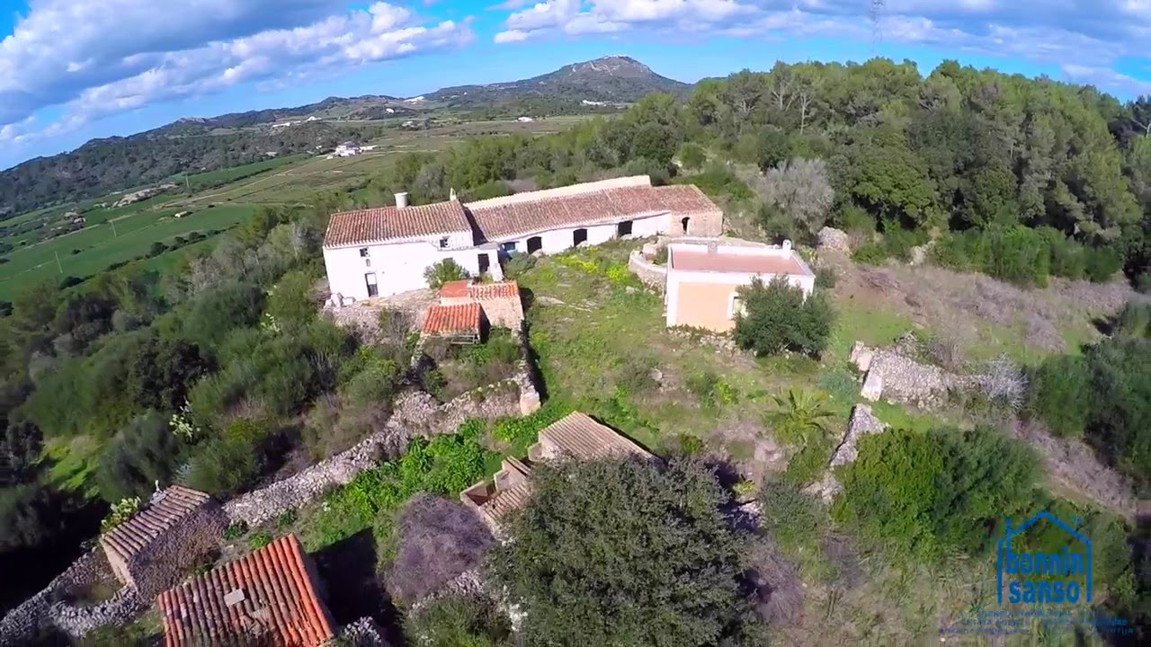 Finca r stica con encanto cerca de alayor menorca rural estate close to alayor youtube - Bonnin sanso mahon ...