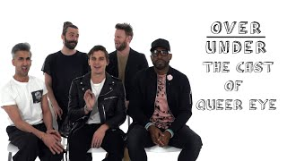The Cast of Queer Eye Rate 30 Rock, The Strokes, and Kellyanne Conway | Over/Under