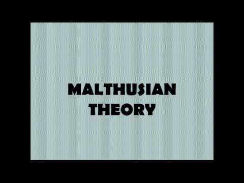 malthusian theory of population robert malthus part  malthusian theory of population robert malthus part 1