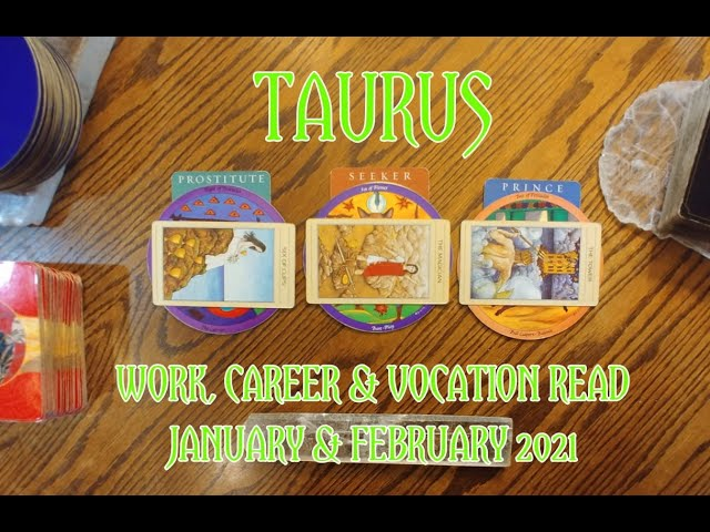 TAURUS: WORK CAREER & VOCATION READ JAN  + FEB 2021 = PROSTITITE + SEEKER + PRINCE ARCHETYPES